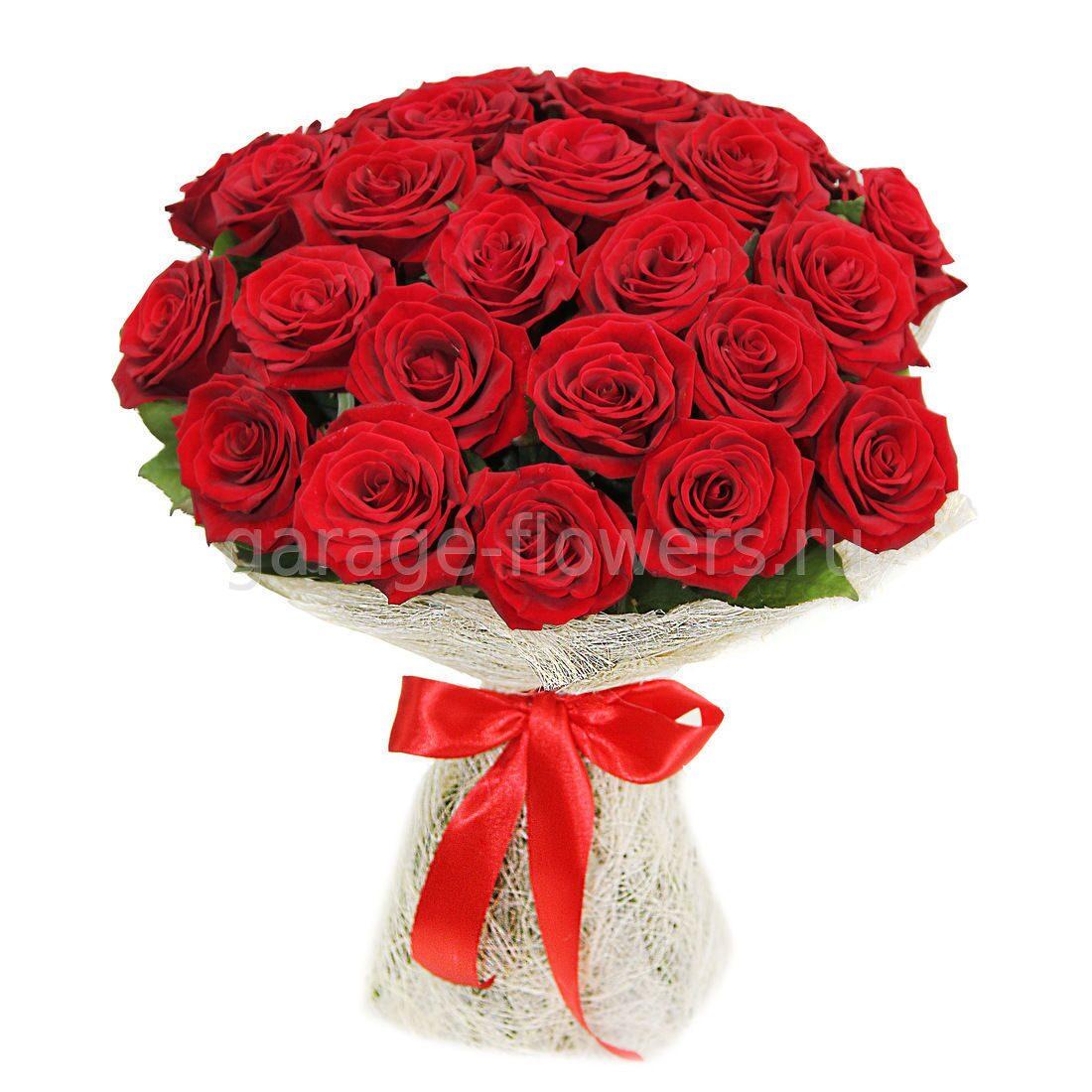 Букеты из цветов роза 39