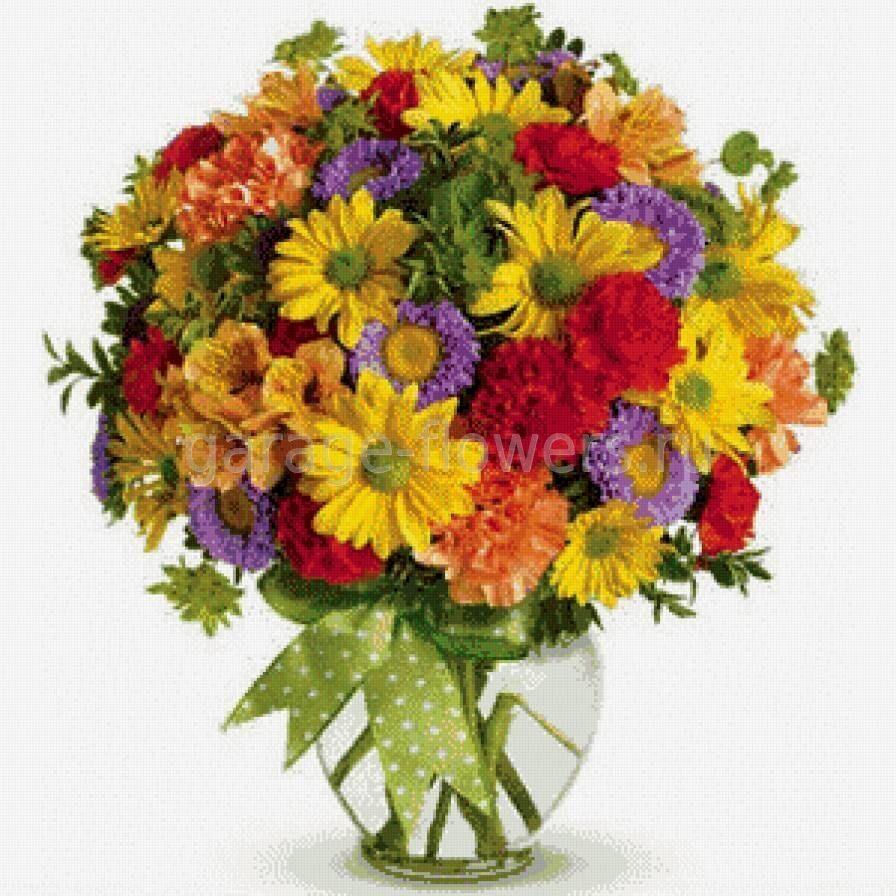 Цветы полевые букеты большие